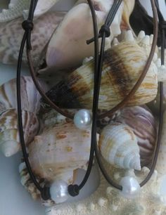 SoWal Leather and Pearls on Etsy https://www.etsy.com/shop/SoWalLeatherPearls #sowalleatherpearlsonetsy #30a #watercolorfl #seagrove #seasidefl #etsy #southwalton #sowal #rosemarybeach #leatherandpearl #leatherandpearljewelry