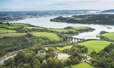 Trematon Castle | Prince Charles | Cornish Coastline- Ancestor= Lord Ralph Trematon DeValletort (27th GGF) 1140-1187