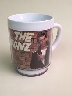 Vintage 70s The Fonz Happy Days Fonzie Plastic by DimestoreDolly