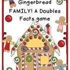 This is a fun GINGERBREAD themed doubles fact game that gets your whole class involved, moving, and more comfortable with those doubles facts!!!Ho...
