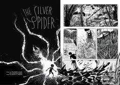 Inside Silver Spider - Written By Praveen K Nair & Art by Devaki Neogi