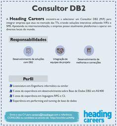 Selecionamos Consultor DB2, para Lisboa.