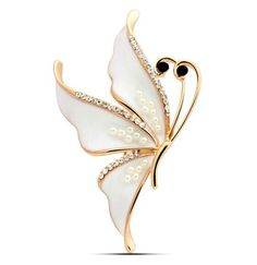 The butterfly brooch Female oil painting elegant fair maiden chain.scarves buckle High-grade fashion jewelry A corsage Fashion Item Type:Brooches is_customized:Yes Style:Trendy Gender:Women Brooches Type:Brooch Pins Material:Crystal Metals Type:Zinc Alloy Shape\pattern:Animal Model Number:5.7cm*5.5cm