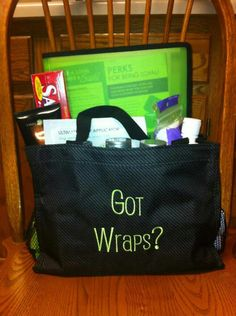 Thirty-One All in One ... great for ItWorks consultants to carry your products around.