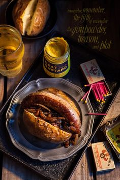 Bonfire night food Jacked potato bangers and Toad in the hole AND a bit of the story behind #Bonfirenight! www.missfoodwise.com