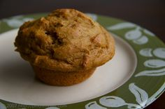 Whole Wheat Pumpkin Muffin with Cranberries and Walnuts--I usually use chocolate chips in these