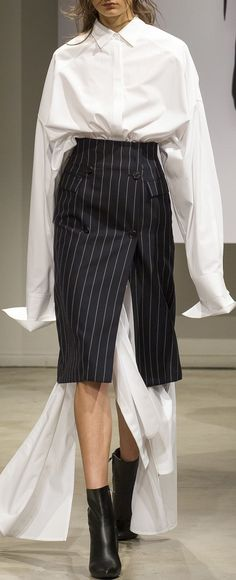 Juun.J Spring 2018 Menswear collection.
