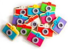 Mini Diana Camera Cookies by Manjar