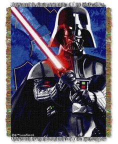 Star Wars Darth Vader Sith Lord Throw by Disney - Multi