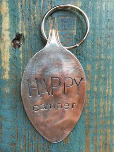 happy camper {key chain}