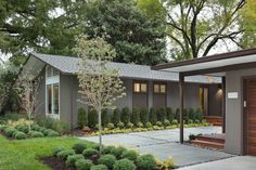When approached to restore this 1957 mid-century house in Mission Hills, Kansas, Architect Chris Fein had one priority: to transform the property into a real home for its new owners. We all know how difficult it is to maintain the original vibe of a mid-century house, whilst updating the property to modern standards. However, Forward Architecture have managed a perfect balance of both the old and the new. Find out more about the restoration process through the words of Mr. Fein himself.