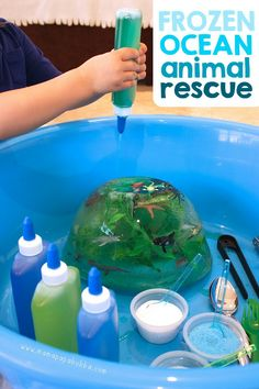 Frozen Ocean Animal Rescue Frozen Ocean Animal Rescue,Fun Activities for Kids Frozen Ocean Animal Rescue {salt, water, & ice play} Related posts:Colander Pipe Cleaner Fine Motor Skills Toddler - Preschool activitiesTaped toys fine motor.