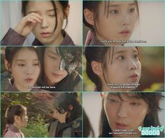 4th prince came to meet hae soo back hugged her, hae so was worried why 4th prince is wearing a mask then he remove th emask saying that why he couldn't forget her  - Moon Lover Scarlet Heart Ryeo - Episode 12 - Review