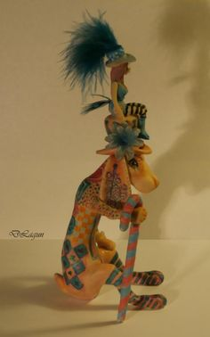 OOAK figurine art doll sculpture tale original handmade