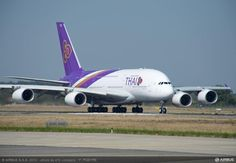 Thai Airways A380 delivery
