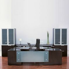 Contemporary office Furniture, Modern Office Furniture including New, Used, Modular and Executive commercial office spaces.