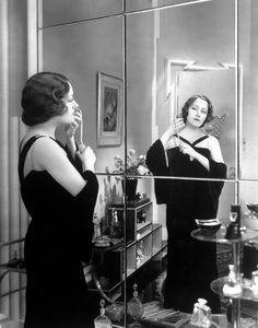 Gloria Swanson (costumes by Coco Chanel) in Tonight or Never (1931)