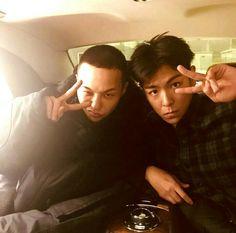 Brothers for life!! ❤❤ #jiyong #seunghyun #picoftheday