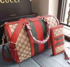 Gucci Vintage Web Original GG Canvas Boston Bag Brown sale at - Free Worldwide shipping. Get today Gucci Vintage Web Original GG Canvas Boston Bag Brown. Cute Handbags, Beautiful Handbags, Gucci Handbags, Luxury Handbags, Fashion Handbags, Purses And Handbags, Fashion Bags, Cheap Handbags, Gucci Bags