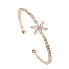 Find More Charm Bracelets Information about Brand Design Wedding Zircon Bangle 18K Rose Gold Plated Bracelets Bangles for Women Fashion Jewelry Cuff Bangle Free Shipping,High Quality bracelet bluetooth,China bracelet case Suppliers, Cheap bracelets for men gold from Yiwu Jia Rui Firm  on Aliexpress.com