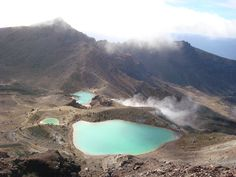 Tongariro Crossing in New Zealand, most amazing hike of my life. Would do it every week if I could. Travel List, Daydream, Of My Life, New Zealand, The Good Place, Vacations, Hiking, River, Spaces