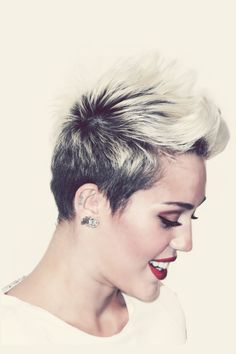 miley cyrus when I decide to cut my hair short again this is what I'm doing!