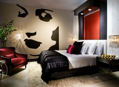 Hotel room design in Hard Rock Hotel Biloxi. #hardrock
