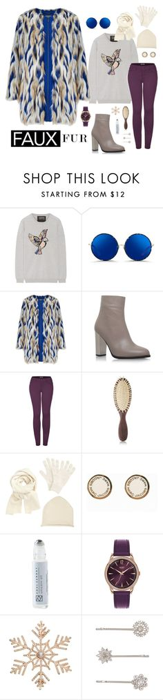"""""""faux fur"""" by bleuorchid ❤ liked on Polyvore featuring Markus Lupfer, Matthew Williamson, Carvela Kurt Geiger, 2LUV, Christophe Robin, John Lewis, Marc Jacobs, Soul Sunday, Henry London and Accessorize"""