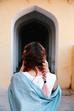 Lauren's braids