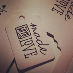 Print Labels for Homemade Gifts | Homemade and Made with Love Printable Labels