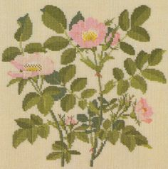 Gallery.ru / Фото #9 - Flowers and Berries in Cross Stitch - Mosca