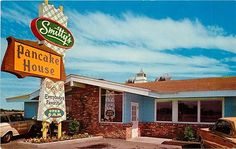 Vintage Postcard Smitty's Pancake House Moses Lake WA Moses Lake, The Pancake House, Modern Restaurant, Googie, Road Trippin, Vancouver Island, Stuff To Do, Random Stuff, That Way