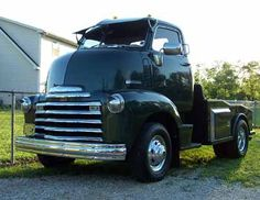 1947 Chevrolet COE (cab over engine).