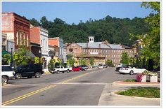 Prattville Alabama - downtown on main street.less than 2 miles from my house