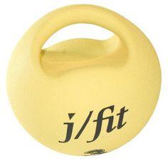 J/fit 6.6lb Premium Handle Medicine Ball