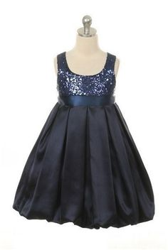Kid's Dream Navy Blue Beautiful Girls Sequined Dress  #Oasislync #onlinestore #fashion #shoppingonline #instagram #kidsclothes #canadaonline #fashionista #clothes #canada
