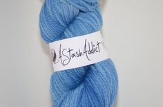 Feeling the blues - stunning Hand dyed 2ply Merino yarn