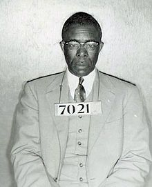 Bus boycott arrest photo of Nixon. Edgar Daniel Nixon (July 12, 1899 – February 25, 1987) was an African-American civil rights leader and union organizer who played a crucial role in organizing the landmark Montgomery Bus Boycott in Alabama in 1955. It highlighted the issues of segregation in the South, was upheld for more than a year by black residents, and nearly brought the city-owned bus system to bankruptcy.