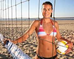 Angie Akers Professional Volleyball player