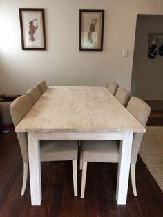 Freedom Cancun Range Includes Dining Table 6 x Chairs Buffet  All in excellent condition except dining table which has a slight heat stain, this can be covered ..., 1097665752