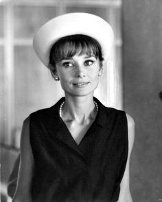 thefashionofaudrey: The actress Audrey Hepburn photographed by...