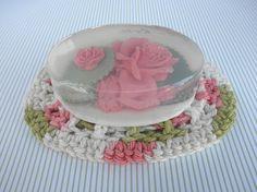 Pink Rose Glycerin Soap by PureHeartSoap on Etsy, $9.00