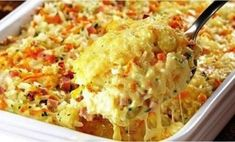 Baked rice with ham and cheese Tasty and prepared in a few minutes. Baked rice with ham and cheese. Baked rice with ham and cheese Tasty and prepared in a few minutes. Baked rice with ham and cheese. Grilled Vegetable Skewers, Grilled Vegetables, Ham And Cheese, Macaroni And Cheese, Baked Cheese, Cheese Food, Best Pasta Dishes, Vegetarian Recipes Videos, Ham Recipes