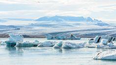Jökulsárlón - Glacier Lagoon, Iceland - The glacier lagoon of Jökulsárlón in Iceland. Vatnajökull glacier.