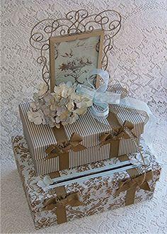 FRENCH COUNTRY Wedding Card Money Box PHOTO by WeddingsofDesign