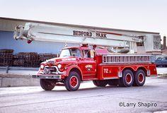 ◆Bedford Park, IL FD 1960 GMC Snorkel◆