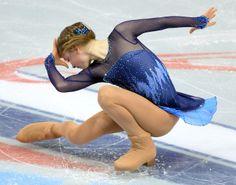 Julia Lipnitskaia at the Ladies short at Rostelecom Cup