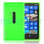 MiniSuit FLEX Rubber Soft Slim TPU Case for Nokia Lumia 920 AT, Unlocked (Bright Green)