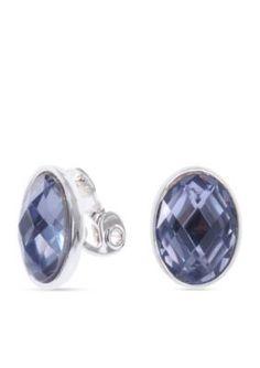 Anne Klein  Purple Clip Earring