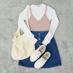 awesome Korean Fashion Sets by http://www.danafashiontrends.us/new-fashion-trends/korean-fashion-sets/